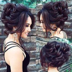 Elstile Long Wedding Hairstyles and Updos | Deer Pearl Flowers #weddinghairstyles