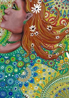 size: Giclee Print: Ginger Goddess by Cherie Roe Dirksen : Pastel Paper, Saatchi Online, Mixed Media Painting, Woman Painting, My Face Book, Is 11, Find Art, Framed Artwork, Giclee Print