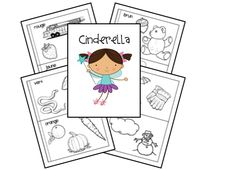 Lapbooks for Homeschool: Cinderella Unit and Lapbook Printables  | Free Homeschool Deals ©