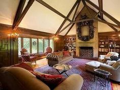 larger than live cozy livingroom