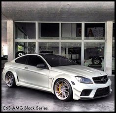 Mercedes C63 AMG Black Series Mercedes Black, Mercedes Benz C63 Amg, Mercedes C63 Amg, Amg C63, C63 Amg Black Series, Cool Sports Cars, Sport Cars, C 63 Amg, Good Looking Cars