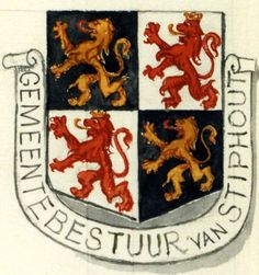 Wapen Stiphout   Geschiedenis Helmond