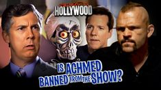 Is Achmed The Dead Terrorist Banned from the Show? Jeff Dunham, Comedy Specials, Comedy Show, In Hollywood, Comedians, Have Fun, Lol, Humor, Guys