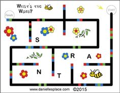 Ozobot - Spelling Bee Bot Learning Words Game for Children from www.daniellesplace.com