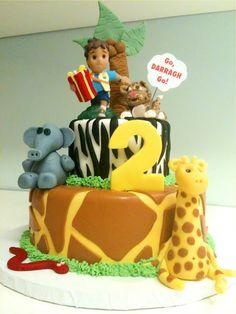 Go Diego! Cake