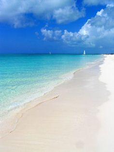 Grace Bay Beach, Turks & Caicos Islands Yes, I would love to be on this beach!