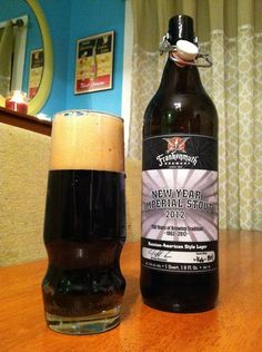 BrewChief.com Review of New Year Stout 2012 (Frankenmuth Brewery) : In the craft beer world, special occasions require special brews. When my birthday rolls around, I always select a special beer to mark the occasion. When my wedding anniversary arrives, my wife and I always like to share one of our mutually favorite beers. Perhaps the most challenging occasion to match with special suds is New Year's Eve. The entire holiday is centered around partying and drinking with friends...