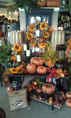 Fall Decorating ~ Something Special Easley SC