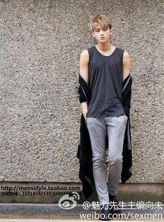 TAO ♡ #EXO - MEN'S STYLE 2013