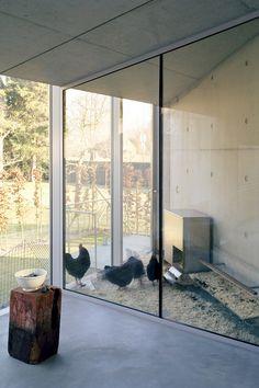 Gallinero estilo contemporaneo en un Projects - Wiel Arets Architects