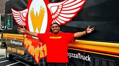 Check out the Wingzza Food Truck on Tuesdays on W. Trade Street