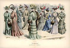 [De Gracieuse] Winterkostumes (November 1904)