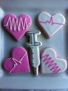 Syringe and EKG