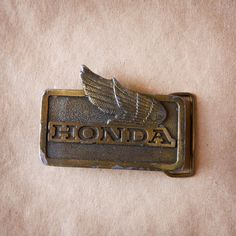 Honda Belt Buckle.