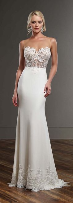 Best Wedding Dresses of 2016 - Martina Liana Spring 2016 Wedding Dress