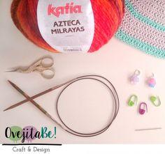 Craft Lovers ♥ Col Feuilles d'Automne tricoté avec une pelote d'Azteca Milrayas par Ovejita Be!