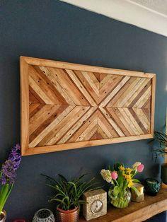 Mark 15 Wooden Wall Art Wood Art Rustic Wall Hanging