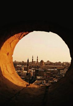 Three minarets mark the thousand-year-old thoroughfare Sharia al-Mu'izz li-Din Allah, the heart of Islamic Cairo, Egypt Best Places To Travel, The Places Youll Go, Places To See, Arabian Nights, Giza, Africa Travel, Adventure Is Out There, Monument Valley, Around The Worlds