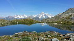 Il Monte Bianco si specchia!