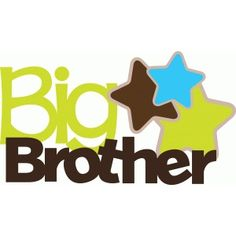 Silhouette Design Store - View Design #39711: big brother title