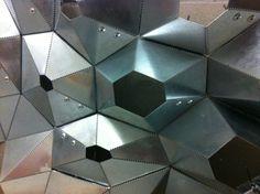 parametric hexagon skin metal example