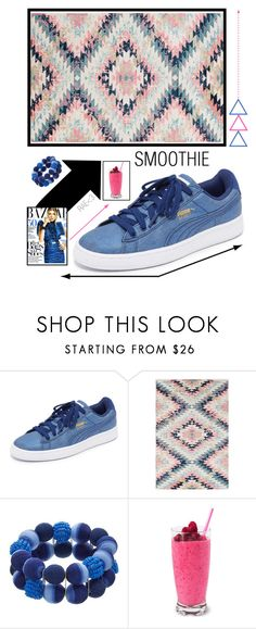 """""""Smoothie #sneakers #berries #fashion #cute #stylish"""" by rae-love-fashion-design ❤ liked on Polyvore featuring Puma, Surya and Fergie"""