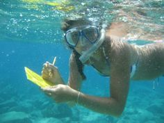 Inspiration for future marine biologists :)