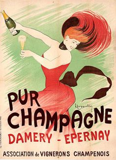 Pur Champagne Damery - Epernay by Cappiello 1902