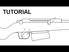 Bolt action rubber band gun — $5 plans and tutorial - YouTube