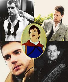 Henry Cavill as Prince Charming of Snow White