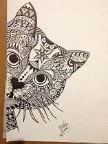 Nalezený obrázek pro Zentangle Cats