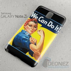 16Rosie The Riveter We Can Do It Samsung Galaxy Note 3 Case
