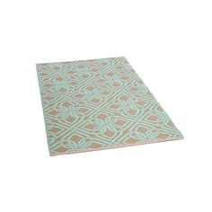 Teppich Outdoor, beidseitig verwendbar, B:90cm x L:150cm, mintgrün