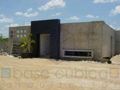 Construccion de residencia en la colonia maya. Merida yucatan mexico