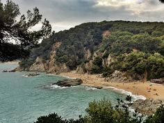 I now know why people have fallen in love with the Mediterranean! Lovely Costa Brava beach.