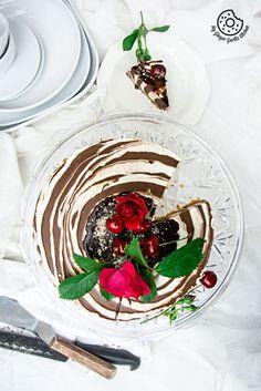 recipe-no-bake-Zebra-Cheesecake   mygingergarlickitchen.com/ @anupama_dreams