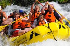 Our residents from Leisure Care's Van Mall Retirement Community doing a bit of whitewater rafting. Are you exciting enough to retire with us?