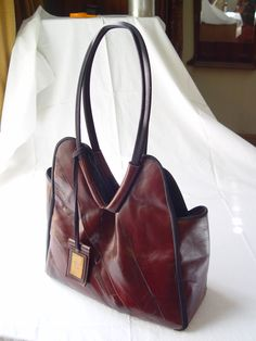 Oxblood Tote, £49
