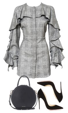 """""""Untitled #5504"""" by theeuropeancloset on Polyvore featuring Christian Louboutin and Mansur Gavriel"""