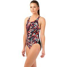 Wiggle Netherlands | Speedo Women's Allover Print PowerBack 3 Swimsuit SS14 Swimwear Ladies
