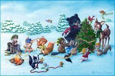 Penny Parker Animals | ... открытки с животными от Penny Parker