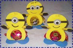 Bonbonnières Minions! Patron gratuit!