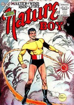 NATURE BOY 3, GOLDEN AGE CHARLTON COMICS
