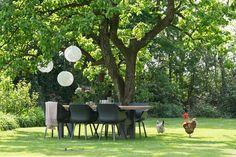 De tuin in met deze trendy tuinset. #creatiefmetsophie