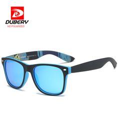 6ab324156cb DUBERY Mirror Polarized Sunglasses Men s women Aviation Driving Male Sun  Glasses For Men Retro 2017 Luxury