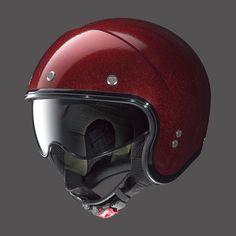 Casco Moto Jet Rosso NOLAN N21 RED FLAKE