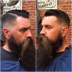 Wake Up and Smell the Barbicide Medium Skin Fade, Pompadour, San Luis Obispo, Barber Shop, Mustache, Architecture, Instagram, Arquitetura, Banana