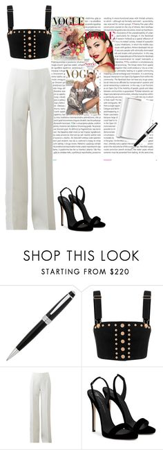 """""""STRICTLY BUISNESS"""" by mb316136 ❤ liked on Polyvore featuring Oris, John Lewis, Michael Kors and Giuseppe Zanotti"""