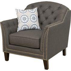 Toni Tufted Arm Chair