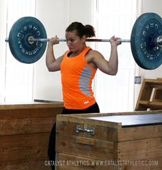 Using behind the neck exercises to improve the overhead position of the snatch and jerk for Olympic weightlifting